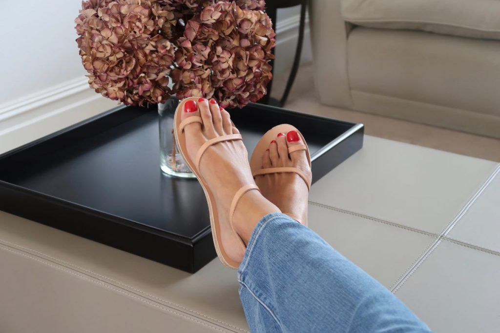 at-home Pedicure London marylelbone