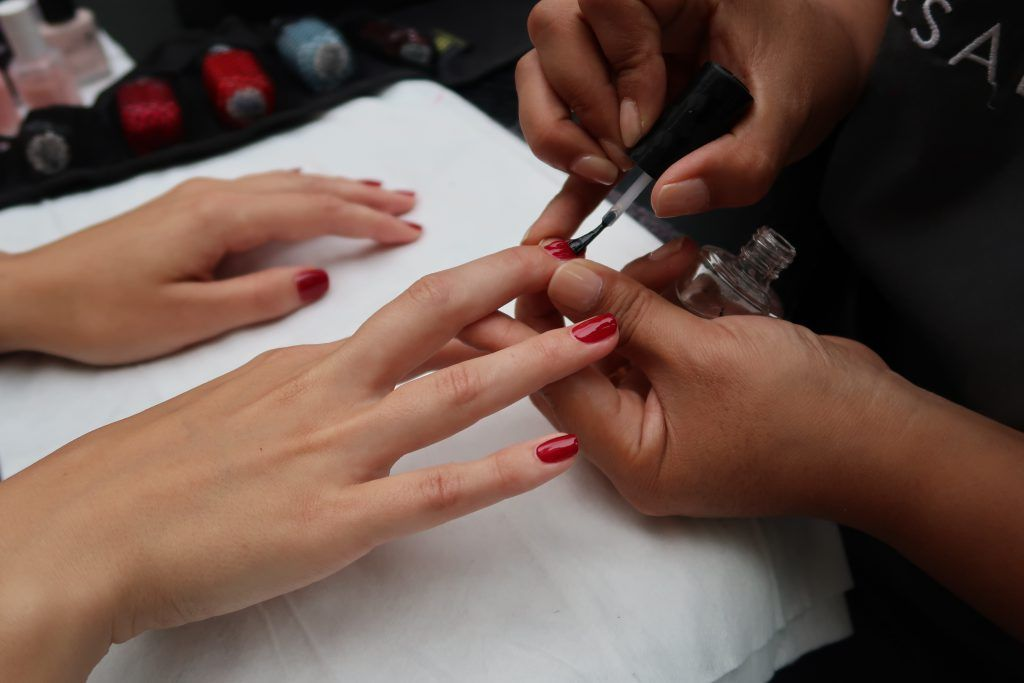 express manicure at home in london