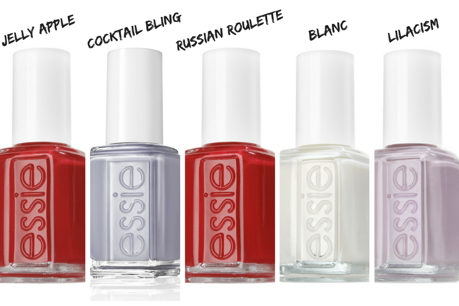 LeSalon wears Essie on National Nail Polish day
