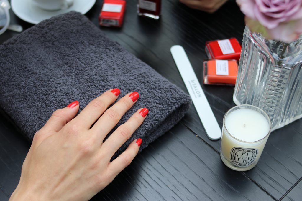 at home manicure fulham