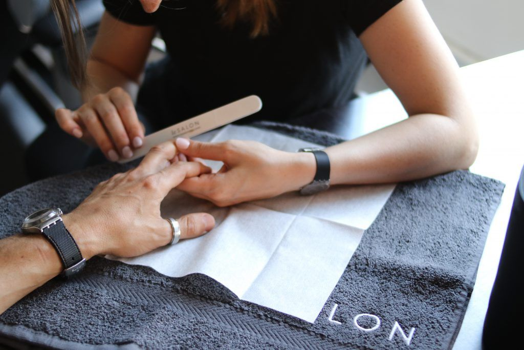 men's manicure mayfair