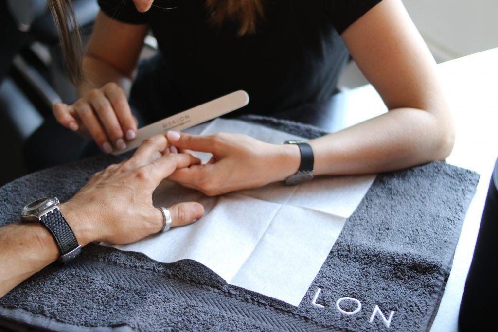 men's manicure mayfair